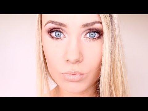 Makeup tricks for blue eyes