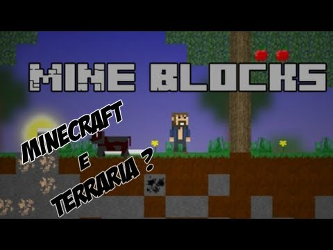Mine Blocks - Minecraft 2D ? XD
