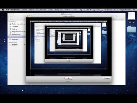 Transferir archivos de Mac a USB y viceversa.mov