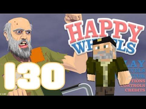 HAPPY WHEELS: Episodio 130 MINECRAFT En HAPPY WHEELS
