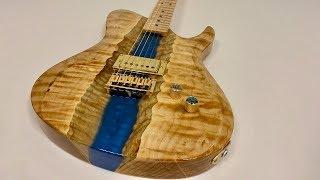 I Built an Epoxy Resin River Guitar