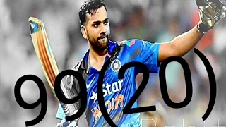 Rohit Sharma Batting Record~{99(20)} By Rohit sharma Fan's