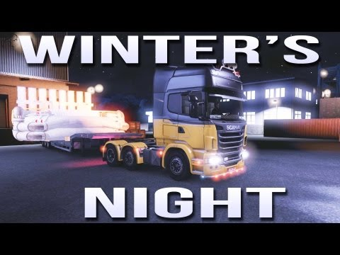 Winter's Night (Euro Truck Simulator 2) ETS2 inc Track IR
