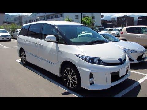 All Toyota Vehicles >> 2013 TOYOTA ESTIMA HYBRID AERAS - Exterior & Interior - YouTube