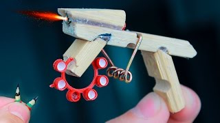 How to Make a MINI AK-47 THAT SHOOTS / Tutorials