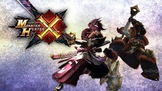 Monster Hunter Generations: Male Armor Showcase (Low Rank, High Rank)    モンハンX・防具セット (男性)