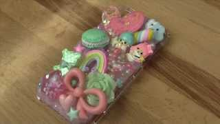 How to Decoden a Phone Case - Making of Pastel Case