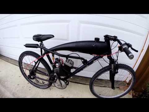 SkyHawk GT-2 80cc Motorized Bike SBP 55MPH (Walk Around)