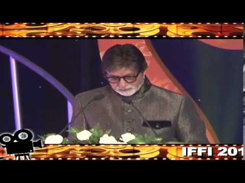 Film Actor Shri Amitabh Bachchan's address at inaugural ceremony of the 45th IFFI-2014