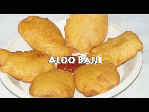How to make Aloo Bajji Recipe | Potato Bajji Recipe in Telugu- by siri@siriplaza Photo Image Pic