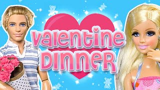 Barbie - Valentine Dinner for Two | Ep.54