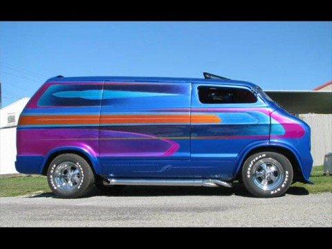 Van Van Custom Custom Dodge Vans