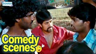 Raja Huli Kannada Comedy - Scene 4 - Yash, Chikanna