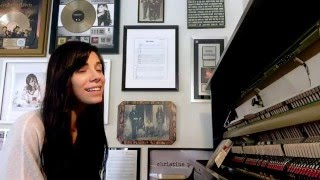 "christina perri sings ""cant help falling in love"" (cover)"