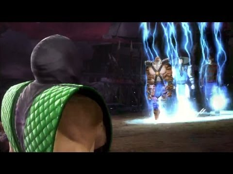 Mortal Kombat 9: Intros, Victories, Fatalities and Cut Scene Swaps *NPC Edition* Part 3