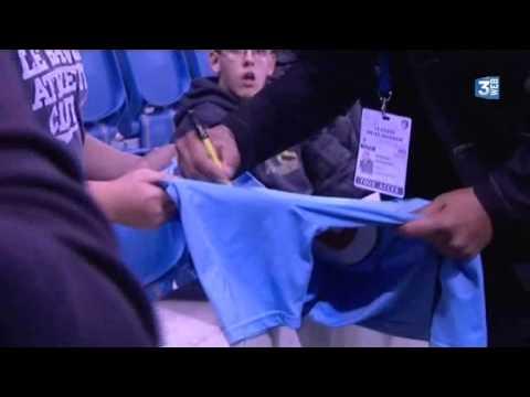 Adriano, star du match Le Havre/Arles-Avignon