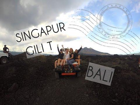 SINGAPORE, BALI, GILI T   Backpacking «