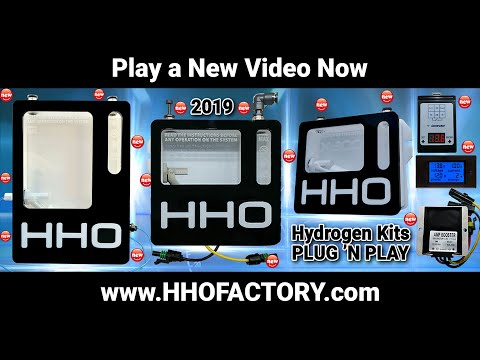 ✔ HHO Motor 100 % Water NO Gasoline - HHO KIT N|EWS