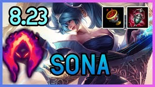 PRESEASON 8.23 DARK HARVEST SONA SUPPORT  - League of Legends