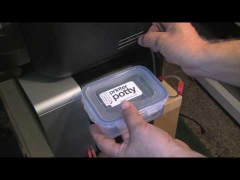 How to Install an external waste ink option on the Epson SP 2200  - The Printer Potty