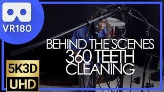 Dentist Teeth Cleaning ASMR Roleplay 👀 VR180 3D Behind The Scenes