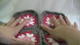 Sewing Granny Squares Together Tutorial