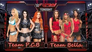Wwe 2k15 - PS3 - Team Bella Vs. Team Paige (P.C.B)