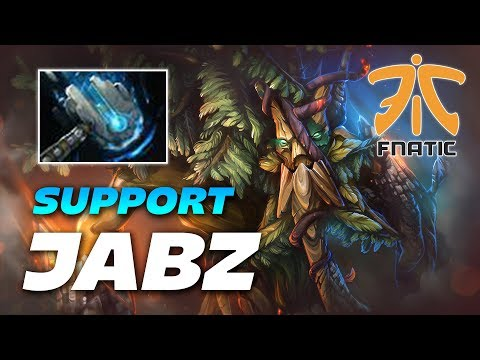 Jabz Treant Protector | SUPPORT Position 5 with Meteor Hammer | Dota 2 Pro Gameplay