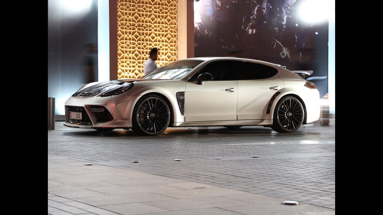 Mansory Limited Edition Porsche Panamera C One Youtube