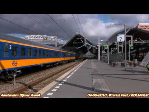 DLM's Trainspotting: ICL overbrenging met E-Loc 1749 te Amsterdam Bijlmer ArenA 04-05-2010