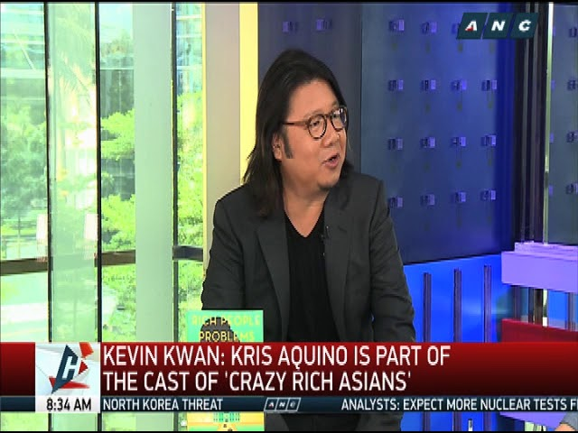 Kris Aquino confirmed to join 'Crazy Rich Asians' cast