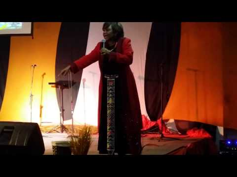 "Rev. Pearl Kupe,  ""Africa Arise"" ..  FULL   Part 3"
