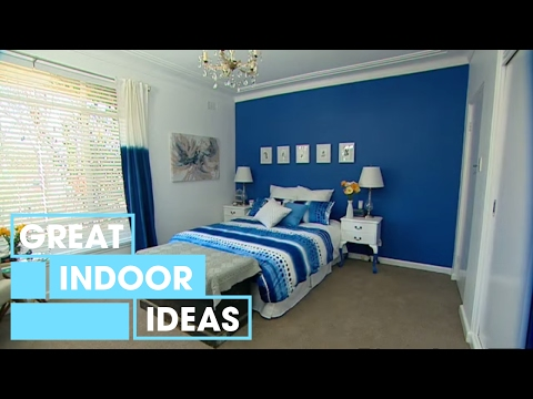 How To Decorate A Bedroom With Blue | Indoor | Great Home Ideas