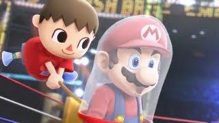 【Wii U】Smash Bros. 大乱闘スマッシュブラザーズ 最新作 初公開映像【3DS】
