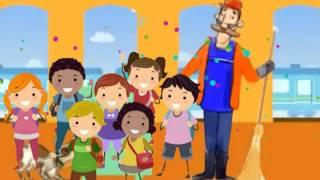 На вокзалі - Дитяча пісня