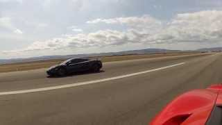 Whipple Ford GT vs 2012 McLaren MP4-12C (616HP factory upgrade)