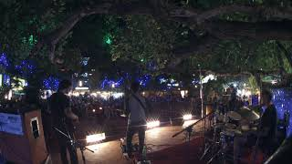 music and fire dance in Goa