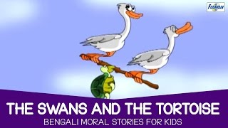 The Swans And The Tortoise - Bengali Moral Stories For Kids | Bengali Cartoon