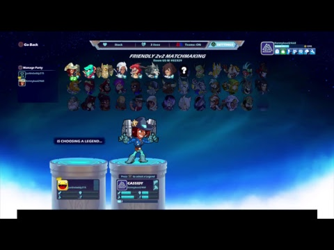 Brawlhalla! Starting over!