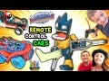 ASTROBLAST BREAKS HIS LEG!  Remote Control Skylanders SuperCh...
