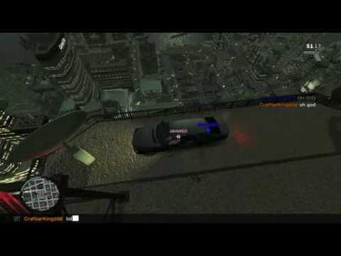 Grand Theft Auto IV PC Multiplayer - Teleporting Cars