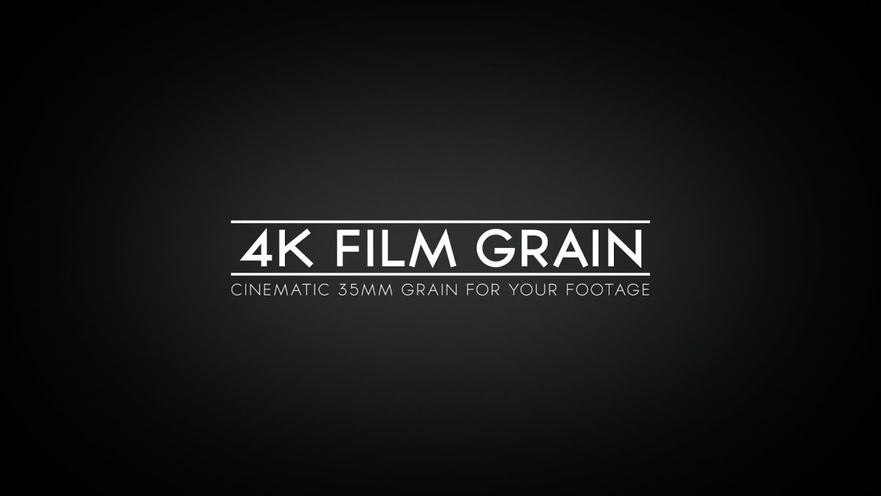 35mm Film Grain Texture 4k Film Grain 35mm Promo