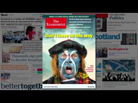 Ep. 12 UK Press and the Scottish Referendum | Media Review