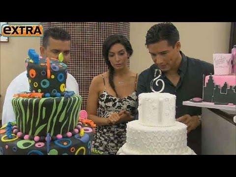Countdown to Mario & Courtney's Wedding: The Cake