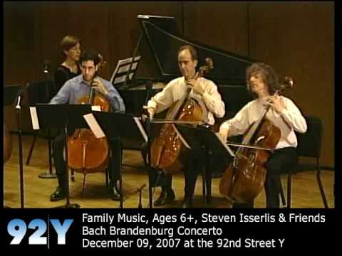 0 Steven Isserlis & Friends at the 92nd Street Y: Bach Brandenburg Concerto
