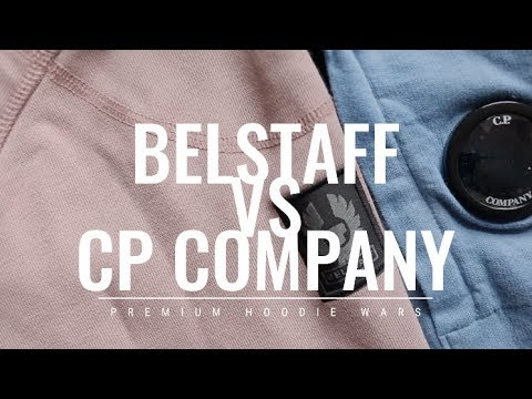 BELSTAFF VS CP COMPANY HOODY SWEATER COMPARISON