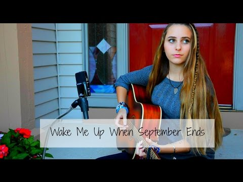 Wake Me Up When September Ends - Green Day   cover