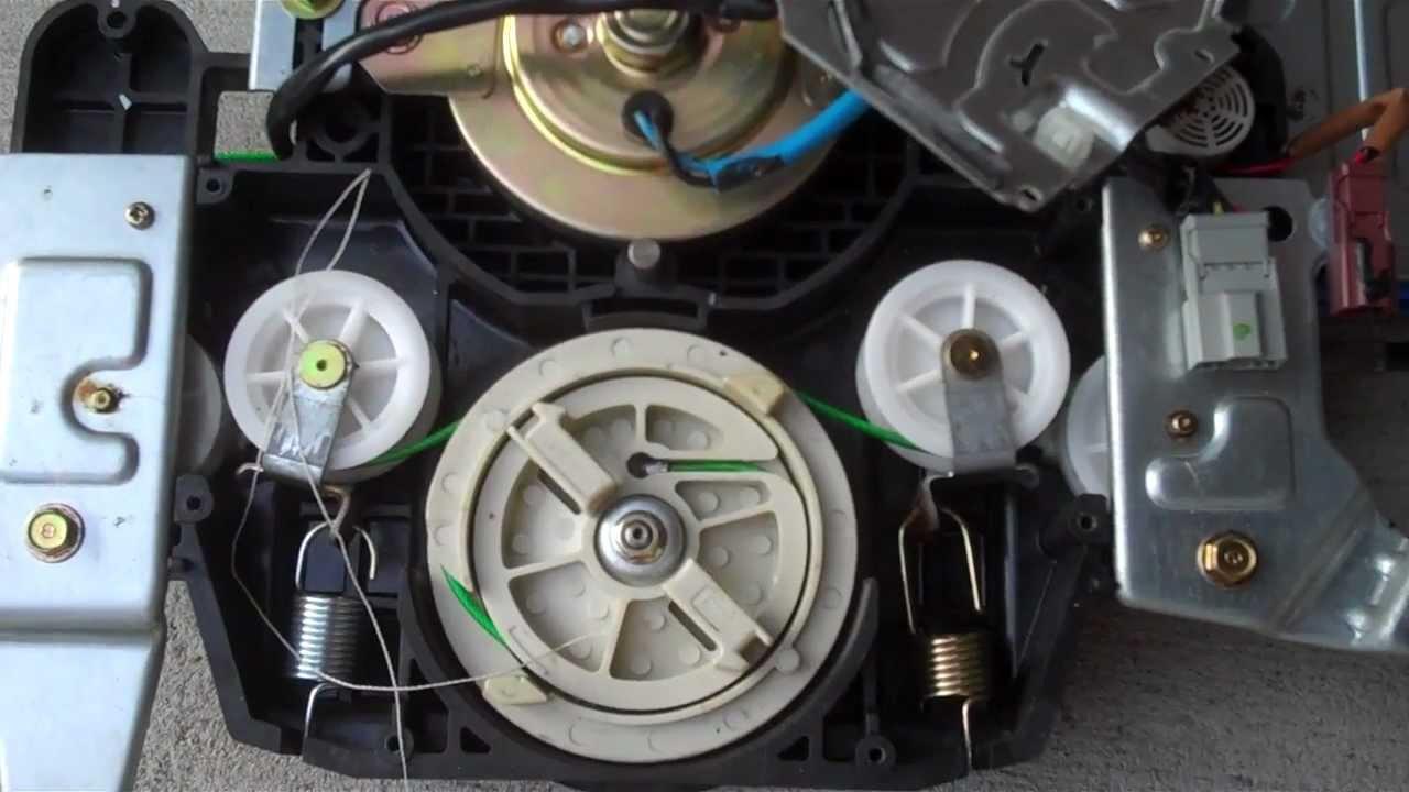2003 Honda Odyssey Sliding Door Cable Repair Youtube