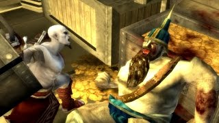 God of War Chains of Olympus: Persian King Boss Fight PS3 (1080p 60fps)