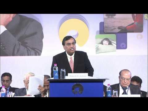 Mukesh Ambani Talks At The 41st RIL Annual General Meeting